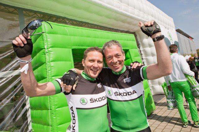 Gelungener Auftakt der ŠKODA Jedermann Radsport Saison