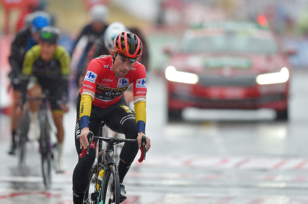 Roglič at 2020 La Vuelta