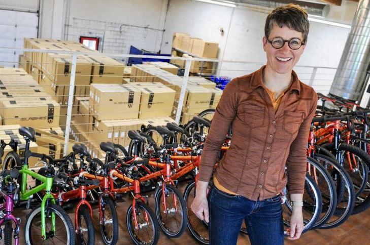 női kerékpározás