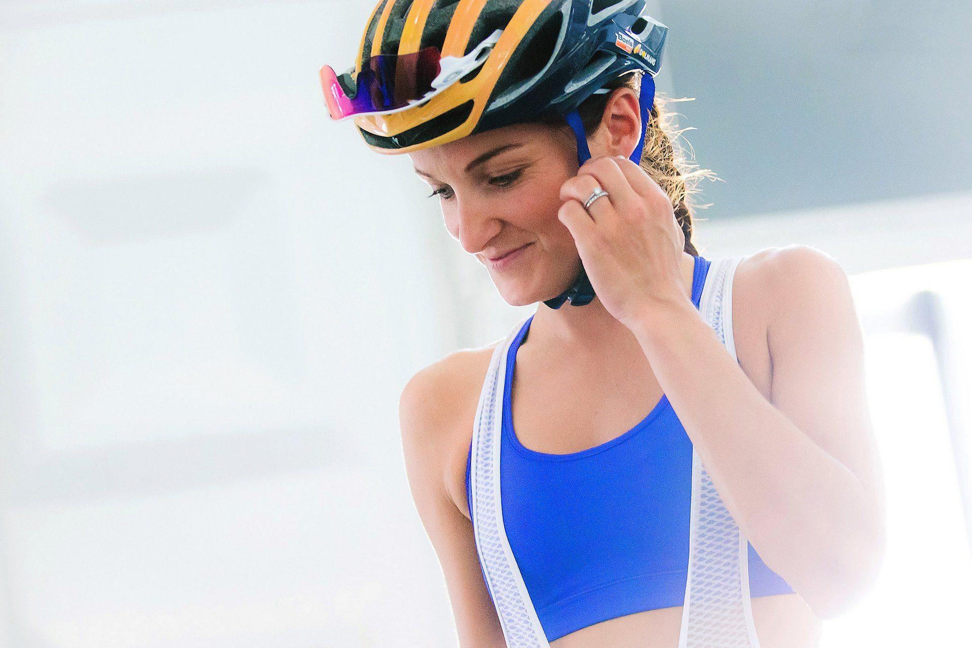 női kerékpárosok