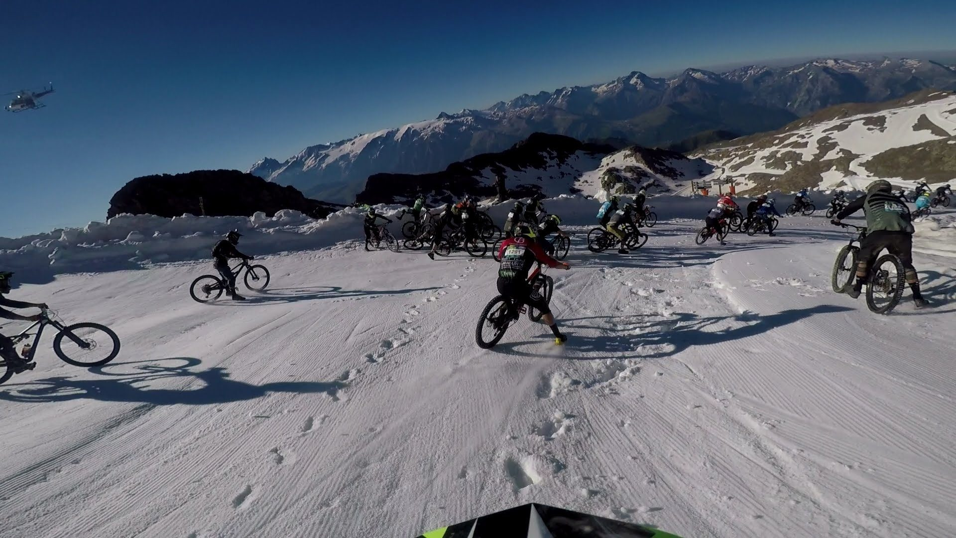 megavalanche downhill verseny