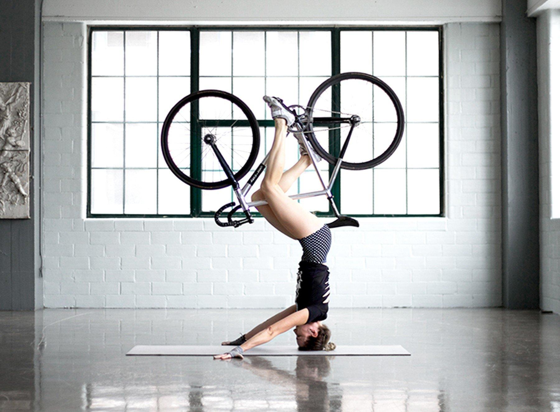 Yoga kerékpárral