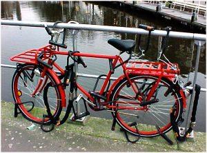 Extremely locked bike, Photo: nortshore-pedalpushers.com