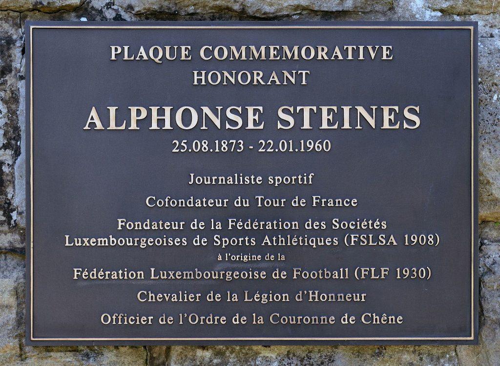 Alphonse Steines Tour