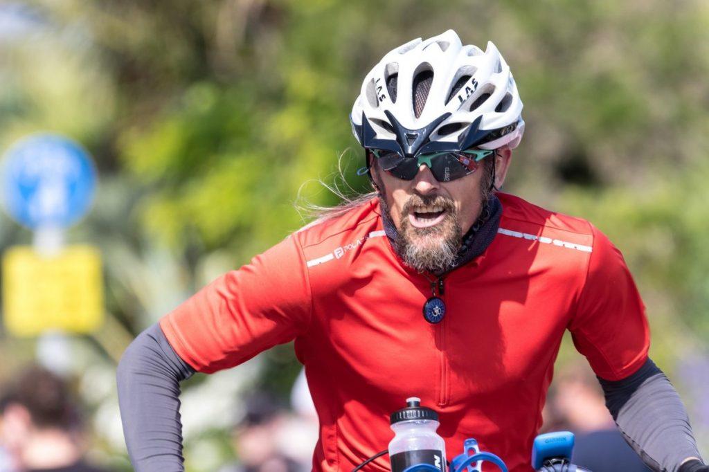Amateur cyclist
