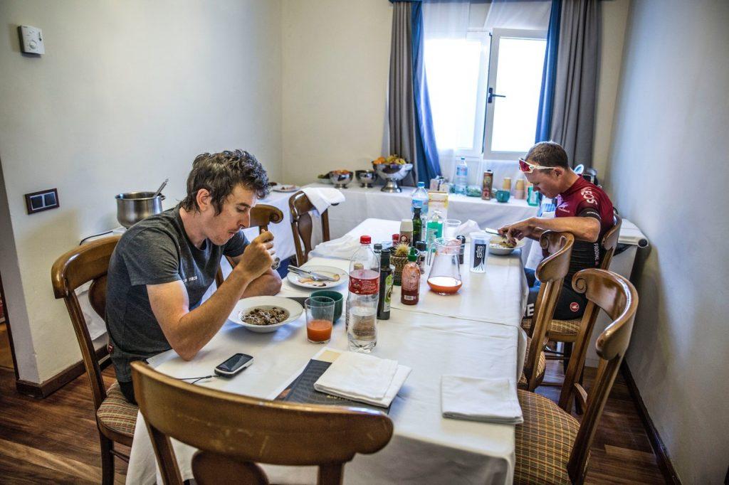 Team Ineos Breakfast