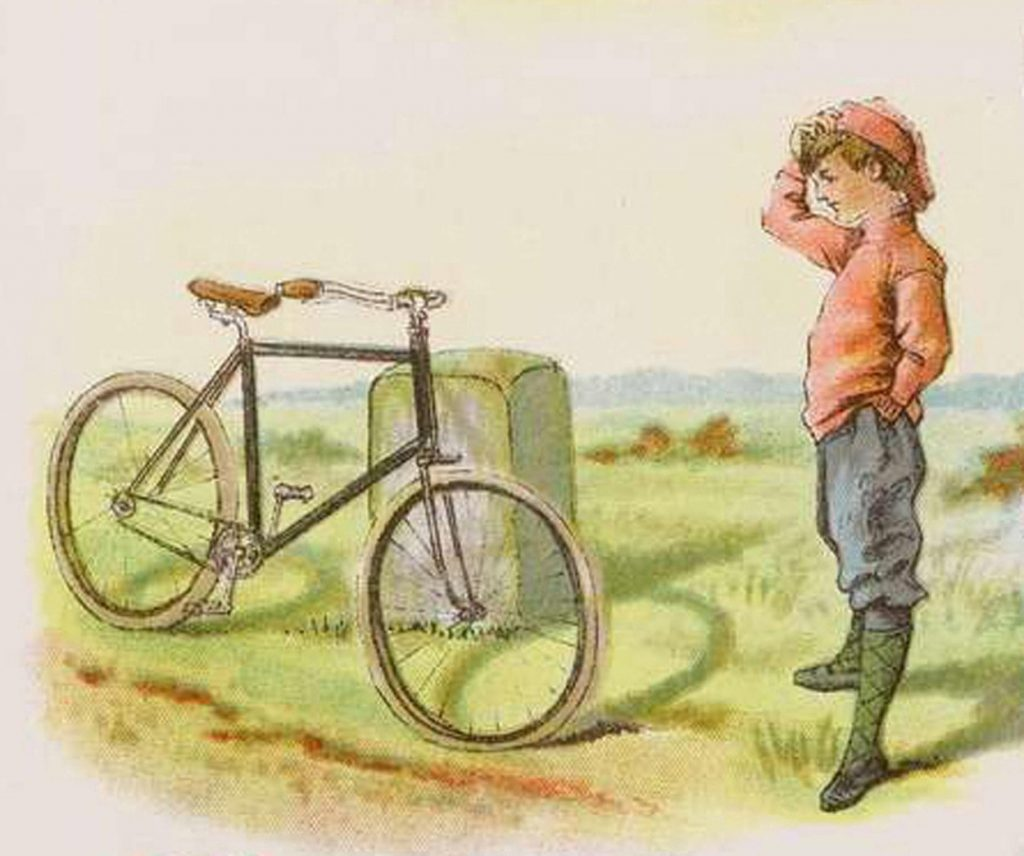 Vintage Cycling Picture
