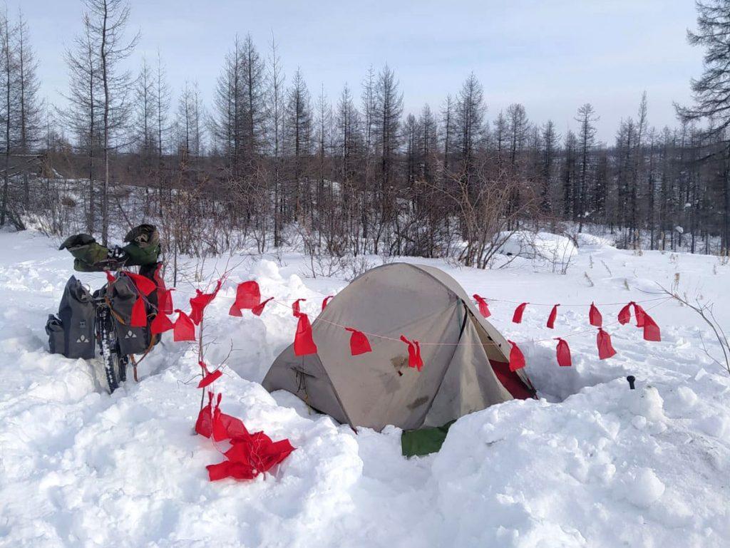 A tent in Siberia