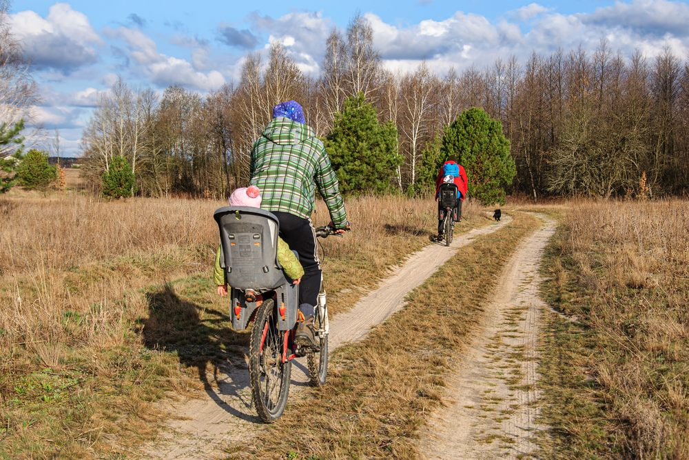Cycling with a child