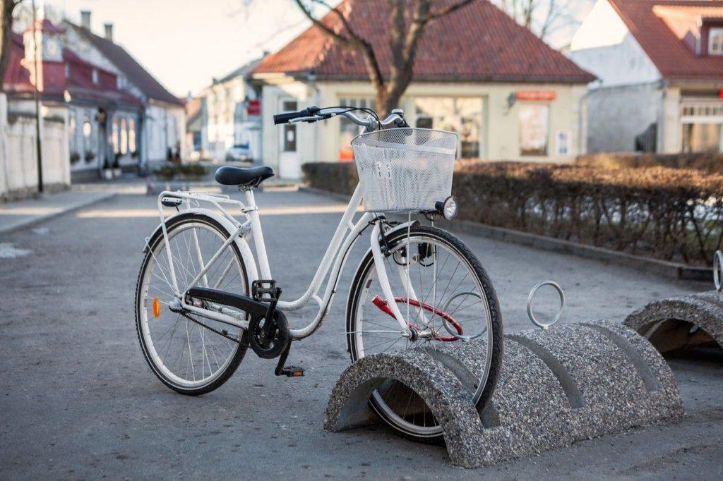 Step-through bike