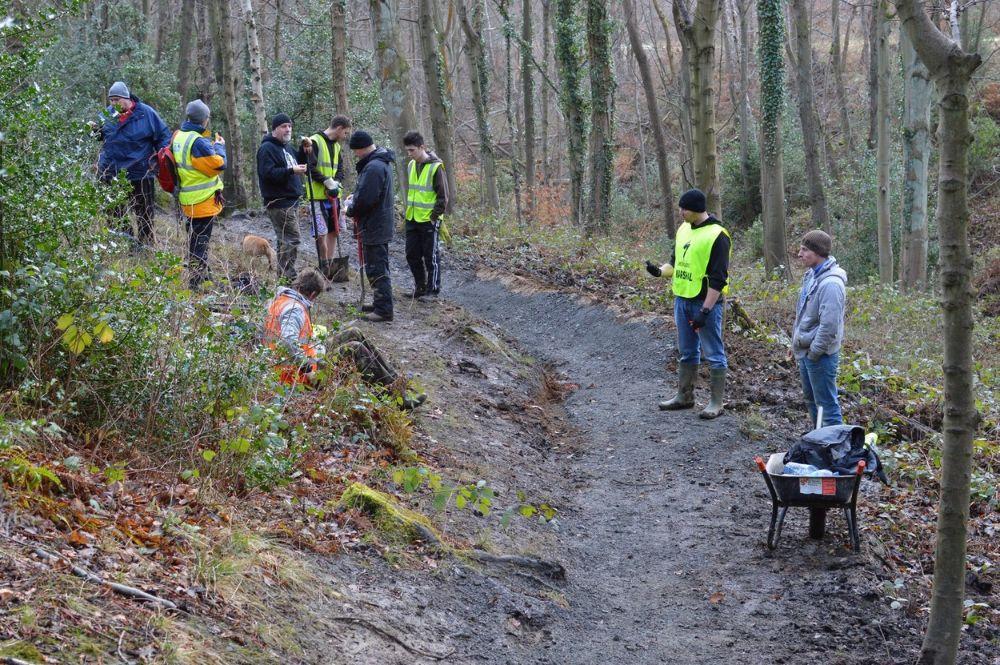 Trail builders