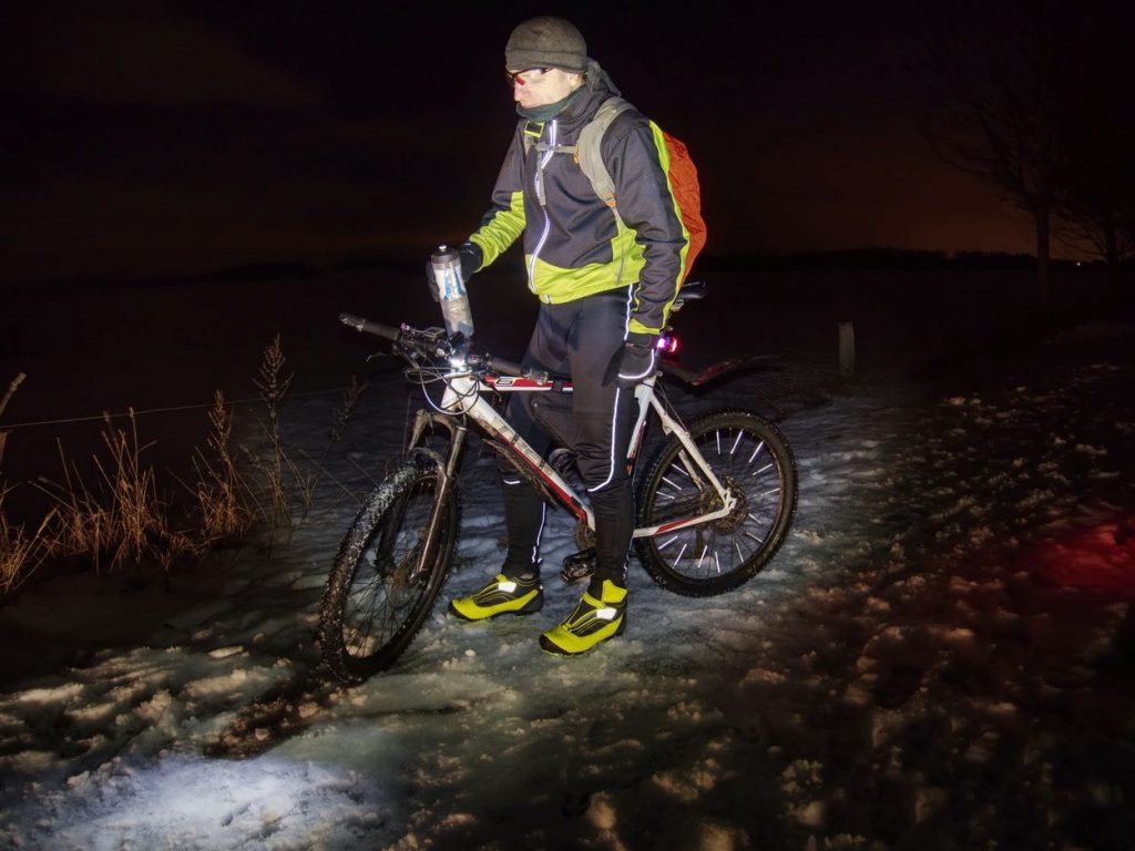 Cycling in the night