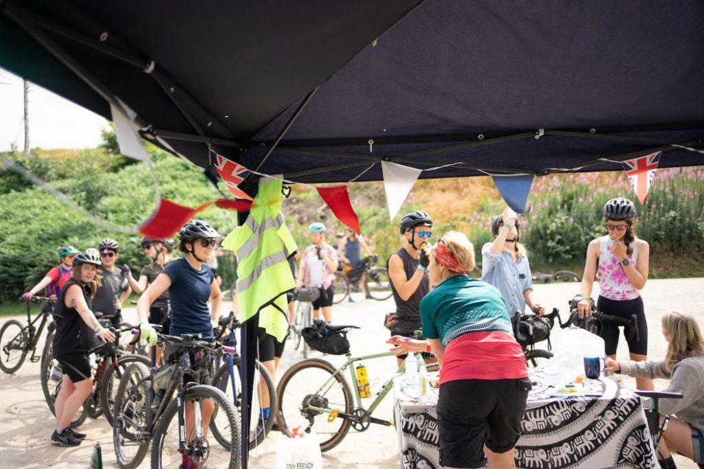 Women Bikepacking