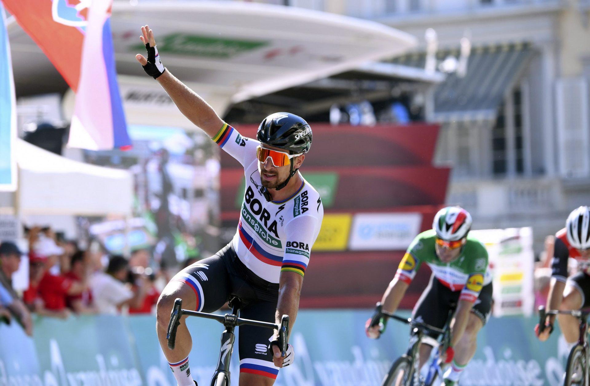 Peter Sagan doufá, že po dlouhé době znovu okusí radost z vítězství. Foto: Tour de Suisse 2019 - 83rd Edition - 3rd stage Flamatt - Murten 162,3 km - 17/06/2019 - Peter Sagan (SVK - Bora - Hansgrohe) - photo Vincent Kalut/PN/BettiniPhoto©2019