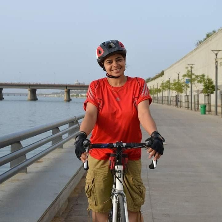 Geeta Rao přemohla dětskou obrnu, na kole zvládne i stovky kilometrů.