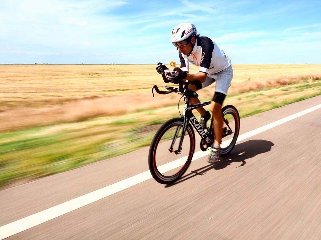Daniel Polman během závodu Race Across America. Foto: TRAGA-Tadeáš Kopča