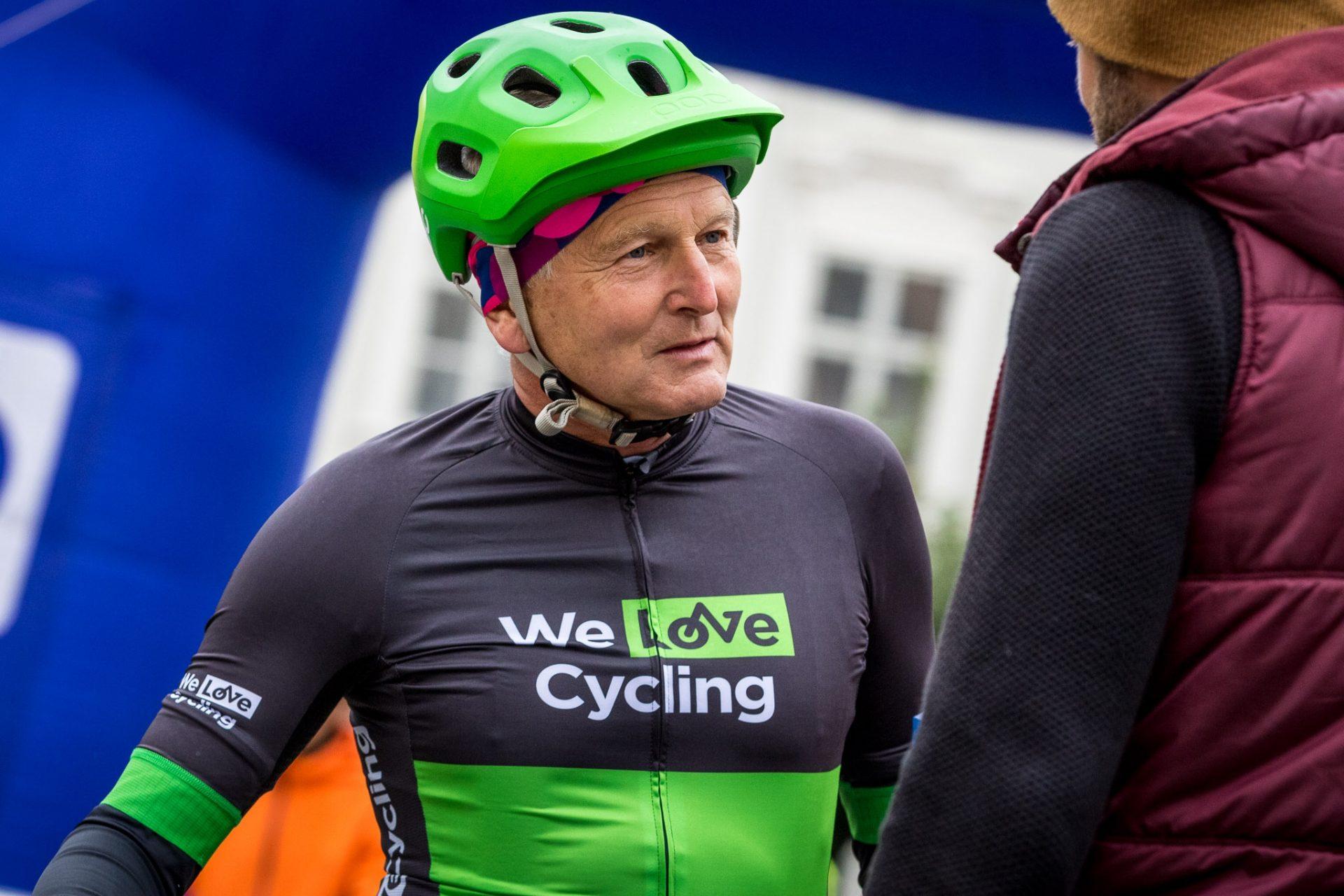 Jan Pirk, přední český kardiochirurg, pravidelně startuje v závodech horských kol. Foto: We Love Cycling