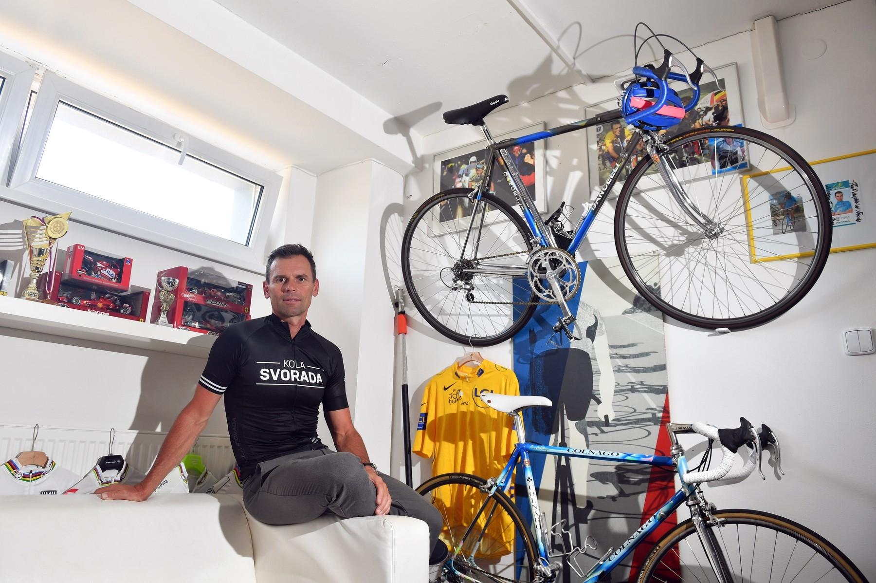 Ján Svorada, vítěz tří etap na Tour de France. Foto: Michal Beránek/CNC /Profimedia
