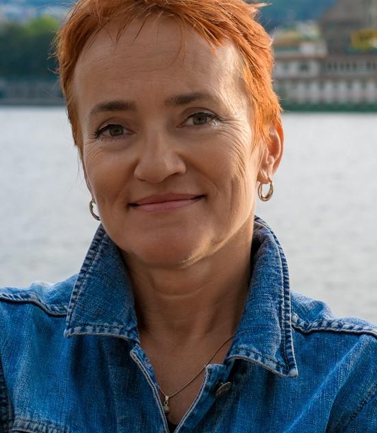 Tereza Boučková, česká spisovatelka, která na kole projela Bhútán. Foto: archiv Terezy Boučkové