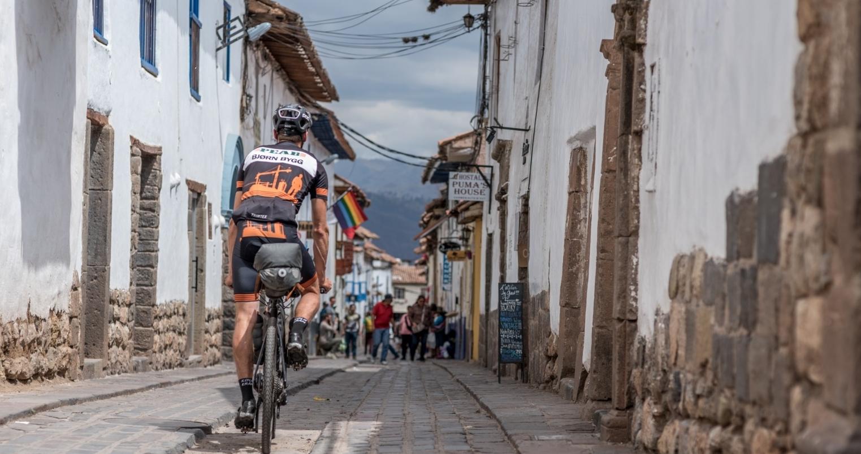 Martin Čunát, bikepacker, který vyhrál v roce 2018 závod Izraeli HLC. Foto: archiv Martina Čunáta
