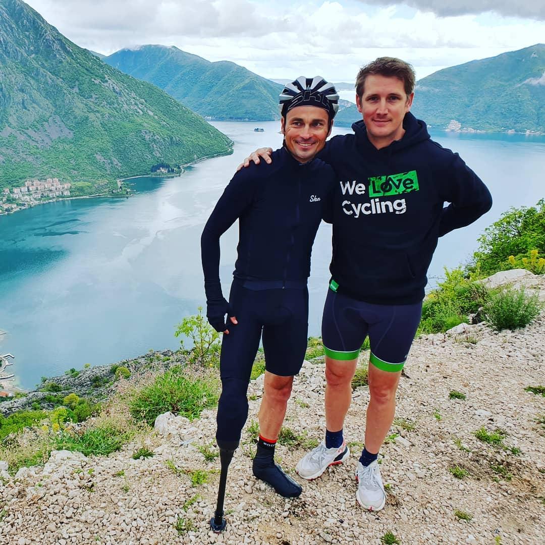 Jiří Ježek a Andy Schleck, aneb šestinásobný paralympijský šampion a vítěz Tour de France 2010. Foto: instagram A. Schlecka