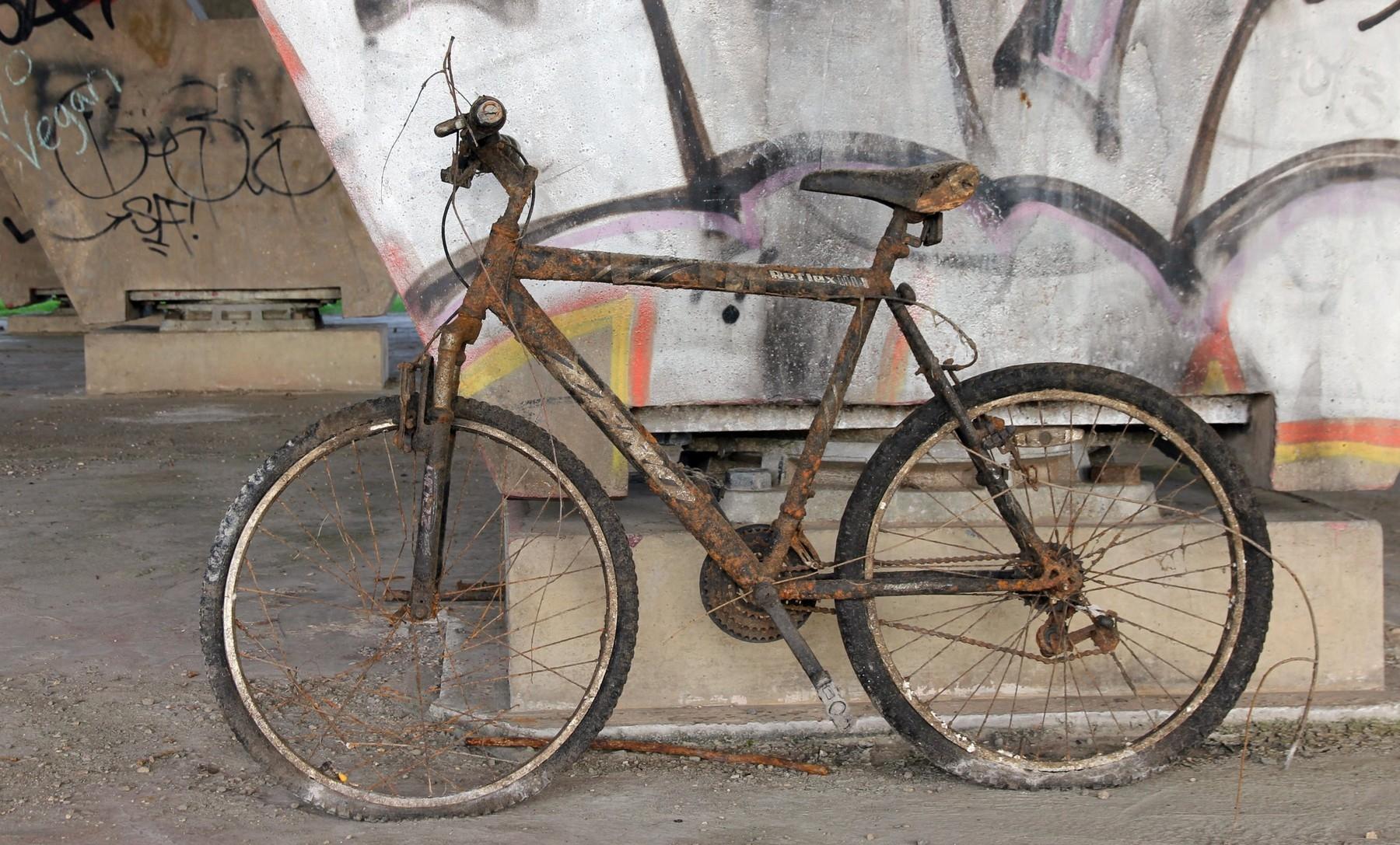 Než odložit staré kolo pod mostem, je lepší udržet bicykl v oběhu třeba i prostřednictvím recyklace. Foto: profimedia