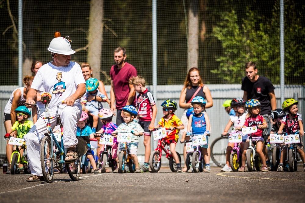 Ve Stupně při závodu horských kol budou připraveny i soutěže pro děti.