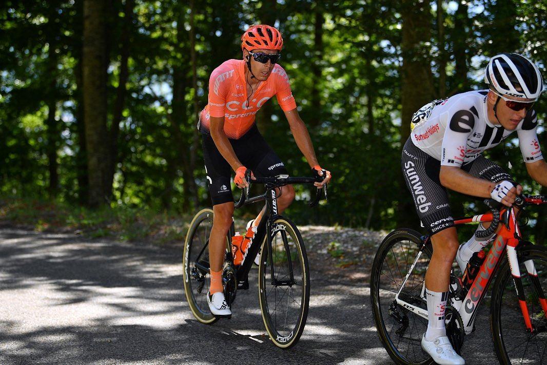 Jan Hirt krátce po nehodě při závodě Tour de l´Ain. Na MČR v Mladé Boleslavi by však neměl chybět. Foto: instagram