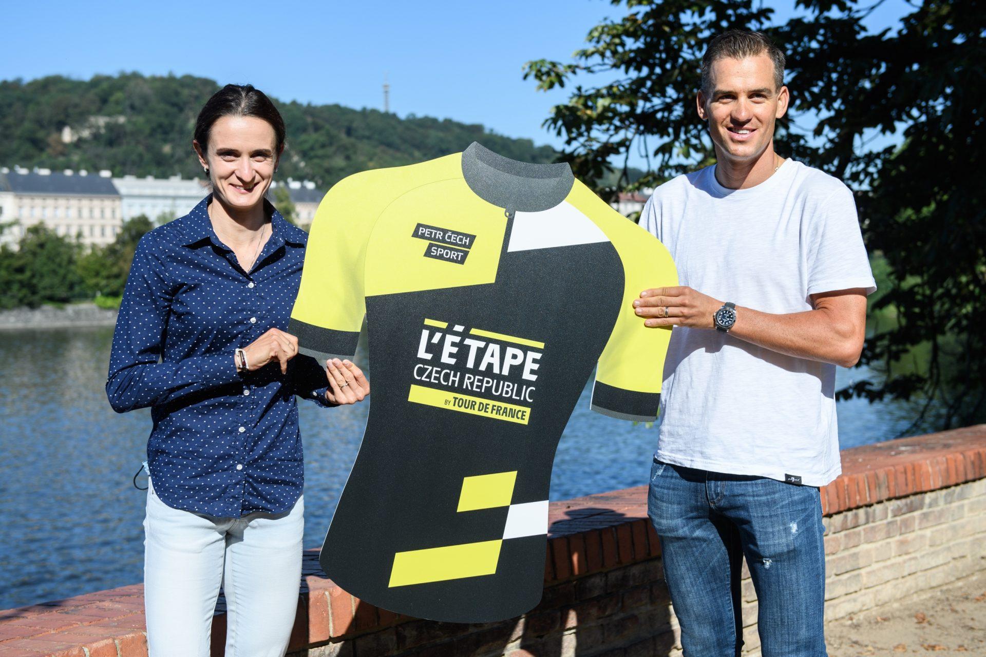Martina Sáblíková a Zdeněk Štybar jsou ambasadory projektu L'Etape Czech Republic by Tour de France.