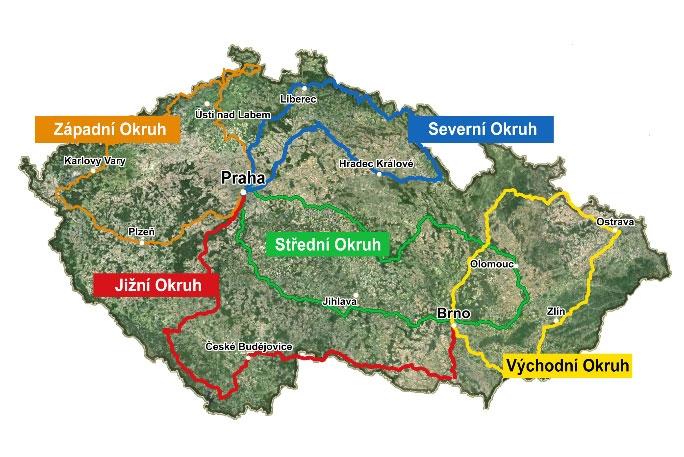 ČeskOOkolo. Cyklotrasy, které propojí všechny oblasti země.
