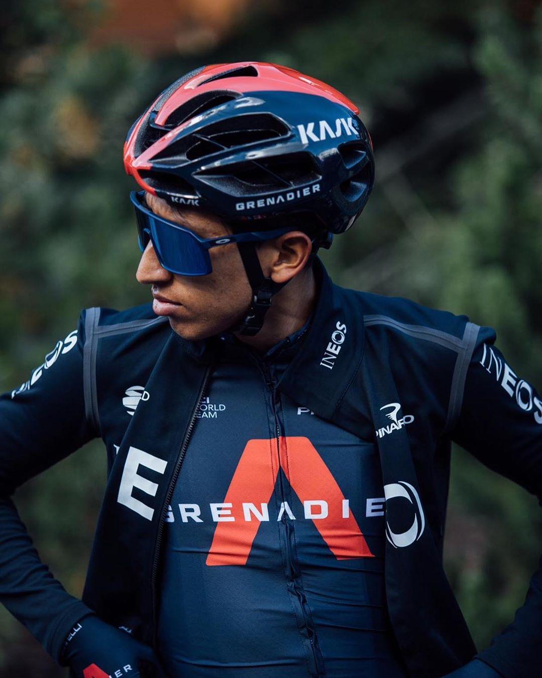 Egan Bernal ukázal v Pyrenejích sílu. Ovšem v klíčových fázích dalších etap si zřejmě bude muset poradit sám. Foto: instagram