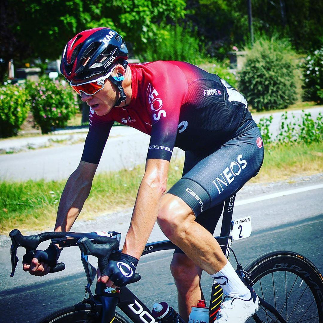 Chris Froome z týmu Ineos sní o pátém vítězství z Tour de France. Letos se ale nevešel do nominace. Foto: instagram