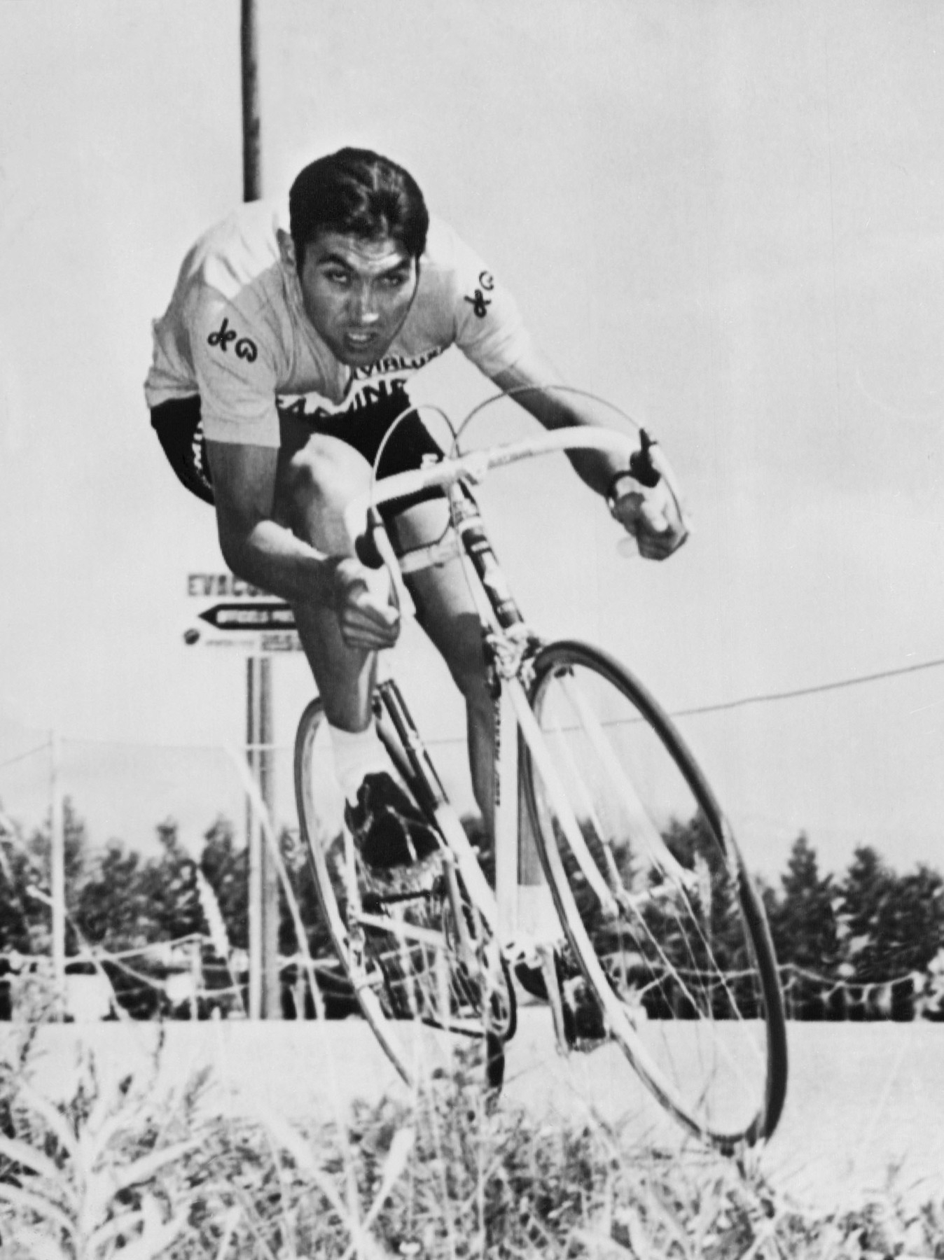 Kanibal Eddy Merckx na trase Tour de France 1970. Foto: profimedia