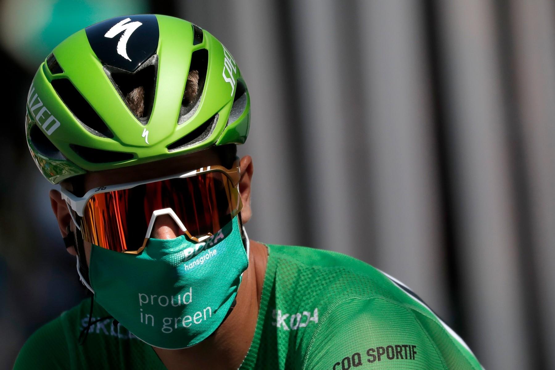Peter Sagan po třetině Tour de France 2020 vládl bodovací soutěži. Doveze zelený trikot až do Paříže? Foto: profimedia