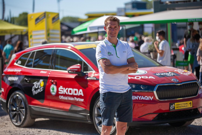 Andy Schleck, vítěz Tour de France 2010, je ambasadorem značky Škoda.