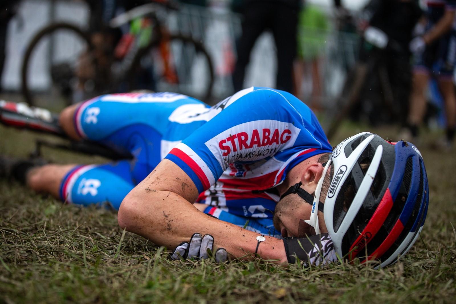 Biker Ondřej Cink na trati mistrovství světa v cross country v rakouském Leogangu. Foto: Michal Červený
