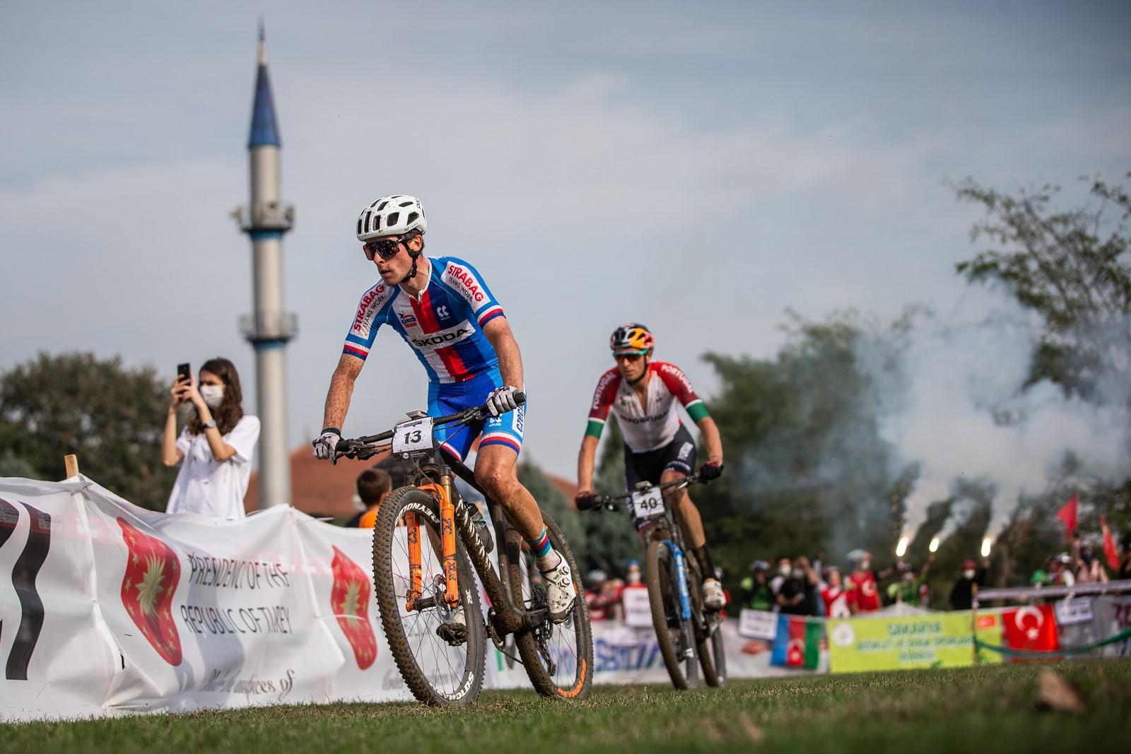 Martin Stošek na trati mistrovství světa v maratonu v Turecku. Foto: Michal Červený
