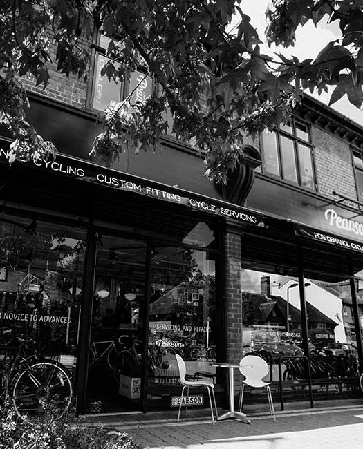 Pearson Cycles ležící nedaleko RIchmond parku v současné podobě. Foto: pearson1860.com