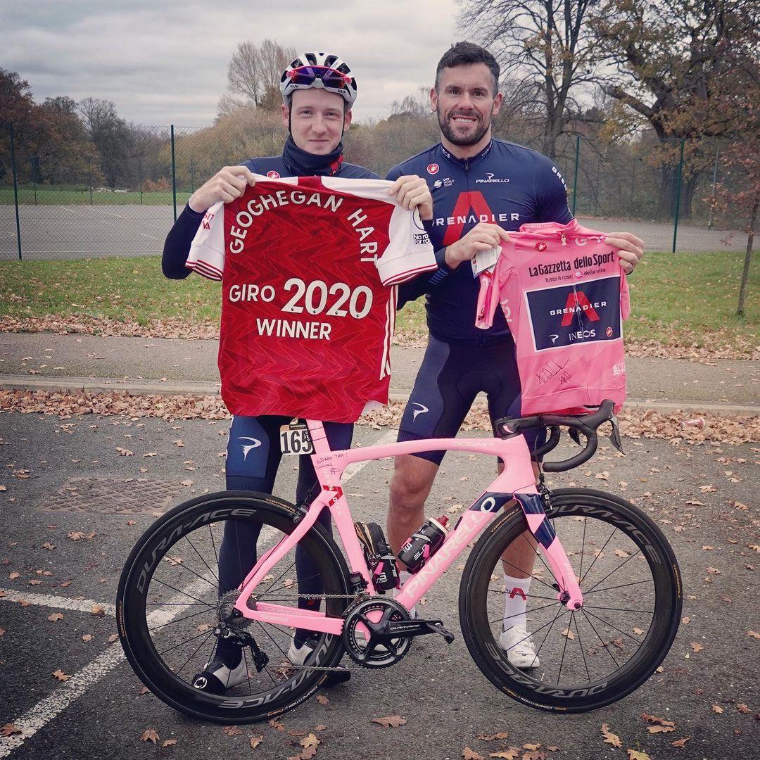 Ben Foster a Tao Hart jsou kamarádi, byť se každý věnuje zcela jinému sportovnímu odvětví. Foto: instagram Bena Fostera