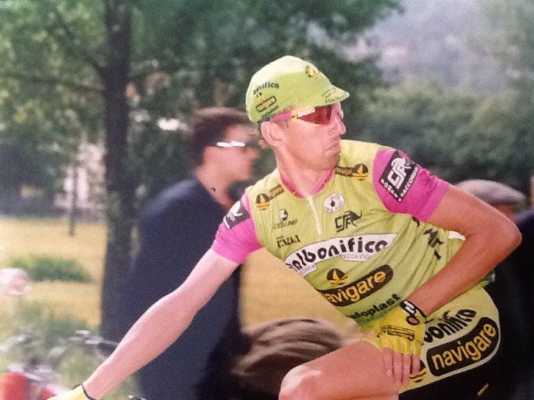 Luboš Lom během angažmá v italském týmu Navigare.