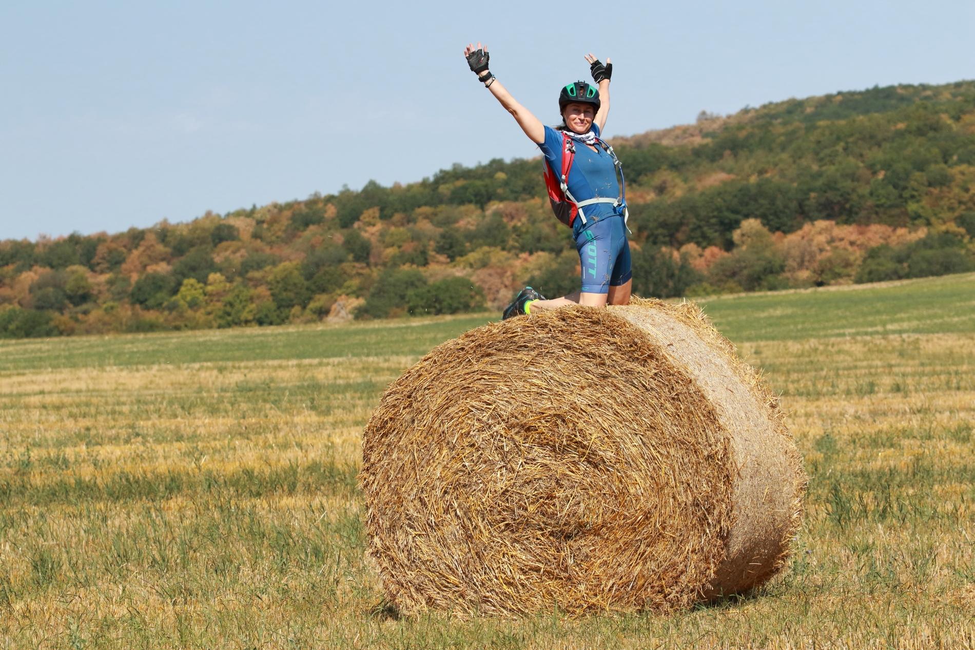 Lucie Výborná preferuje pro cyklistiku horské kolo a možnost jízd přírodou. Foto: archiv Lucie Výborné