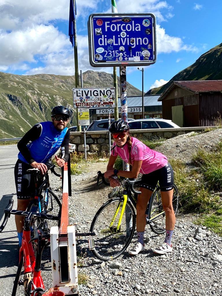 Marcela Joglová v sedle kola pokořila i slavný průsmyk Stelvio.