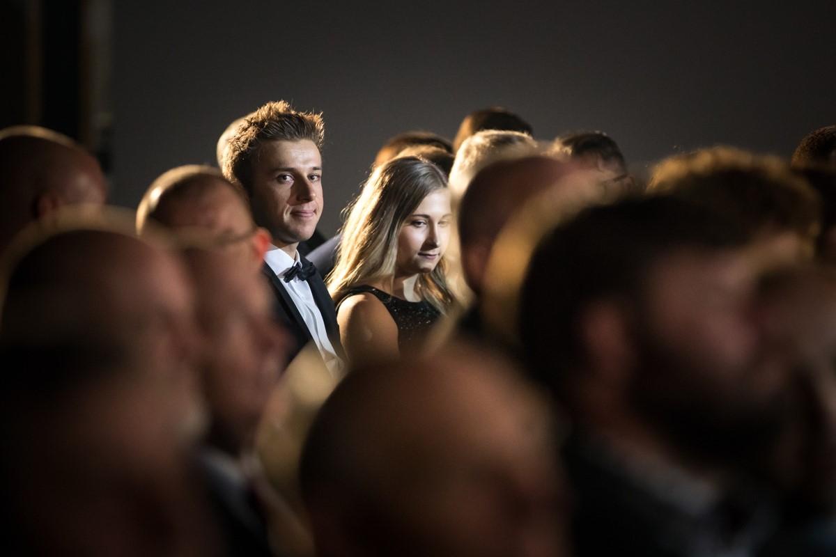 Ondřej Cink s manželkou Pavlínou na jednom z předešlých vyhlášení Krále cyklistiky. Dočká se úřadující mistr republiky v cross country i maratonu? Foto: Michal Červený