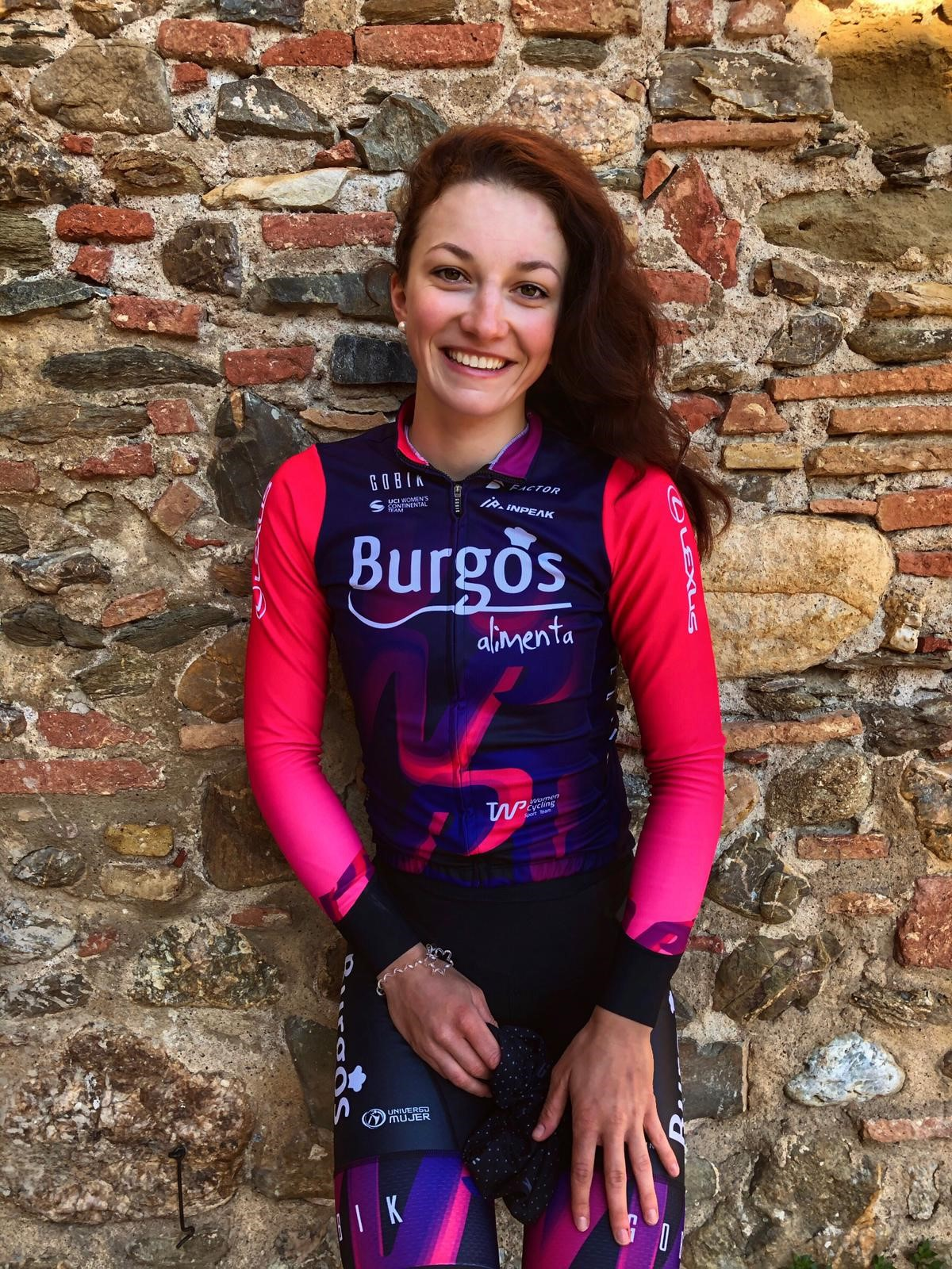 Tereza Neumanová, česká reprezentantka ve službách Burgos Alimenta.