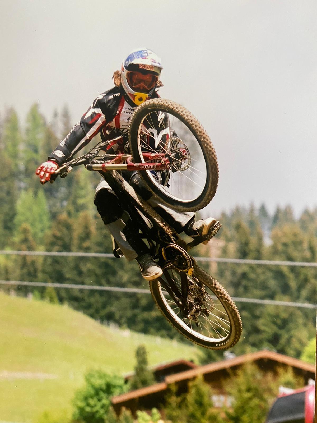 Michal Maroši proslul v sedle kola výjimečnými kousky.