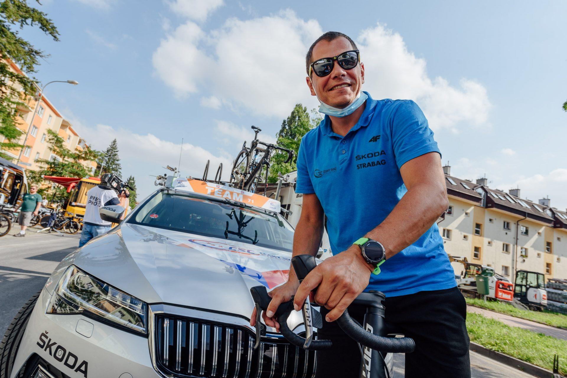 Tomáš Konečný, trenér české cyklistické reprezentace. Foto: Jan Brychta (4x)