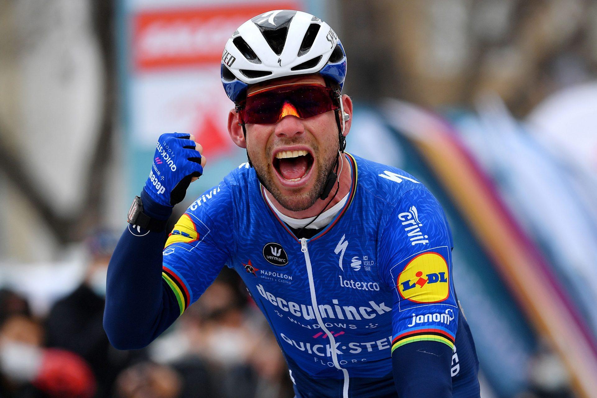 Mark Cavendish a jeho první vítězství po návratu do Deceuninck Quick Step při závodě Kolem Turecka. Foto: Getty Images/Deceuninck Quick Step