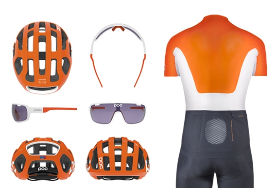 Jedna z variant nejlepších barev přispívajících k bezpečnosti cyklistů.