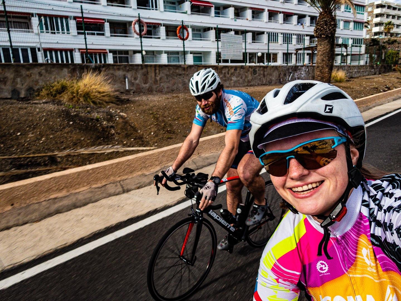 Markéta Marvanová a Pavel Paloncý při tréninku na dobrodružství Korona Himaláje.