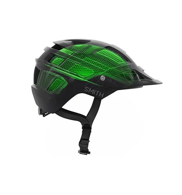Cyklistická helma se systémem Koroyd.